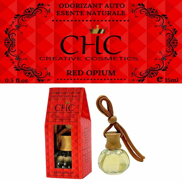 Red Opium car freshener, 15 ml