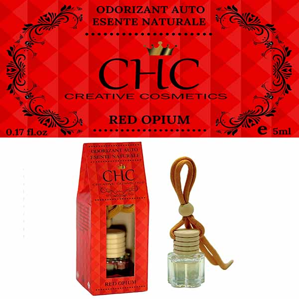 Red Opium car freshener, 5 ml
