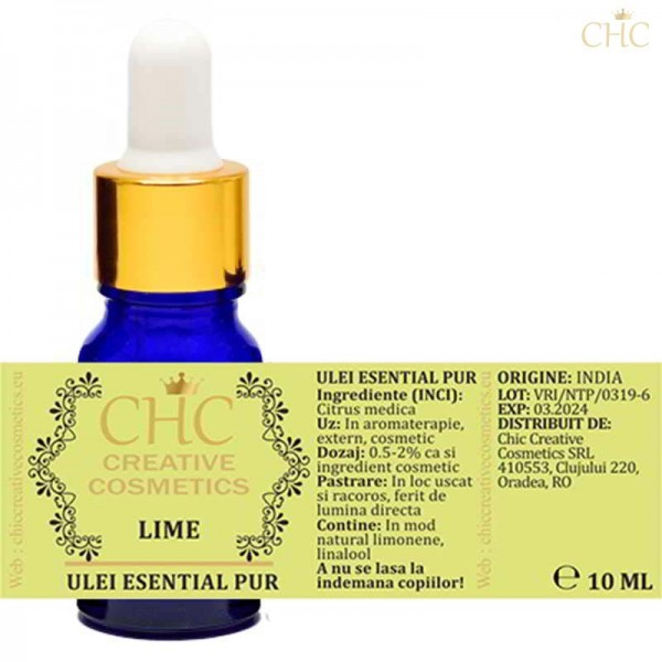Lemon essential oil (citron), 10 ml